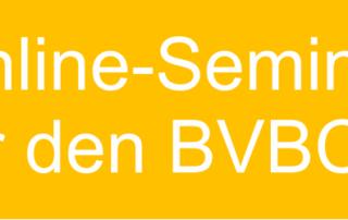 Banner Online-Seminar BVBC