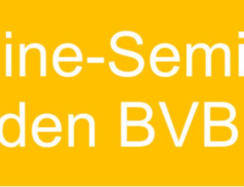 4 Online-Seminare für BVBC-Mitglieder